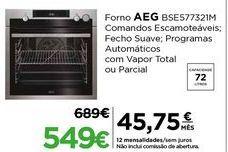 Oferta de Forno AEG por 549€