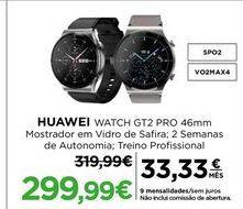 Oferta de Smartwatch Huawei por 299,99€