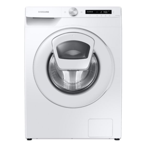 Oferta de WW80T554DTW, Máq. Lavar Roupa Add Wash, 8kg por 459€