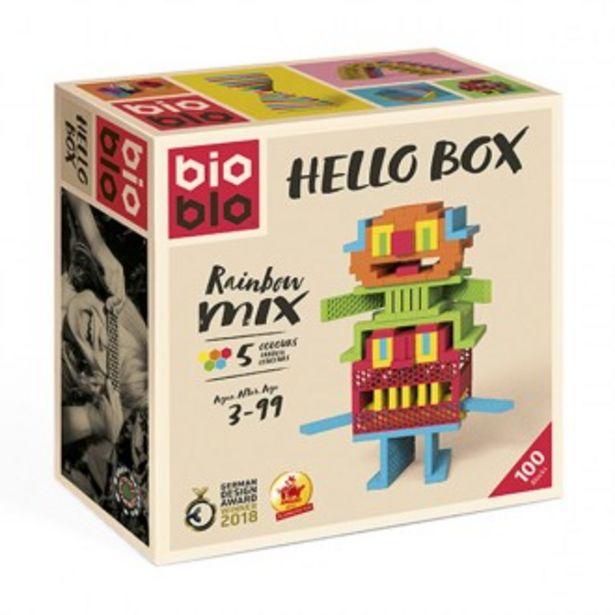 Oferta de Hello box bioblo construção 100 peças por 39,99€