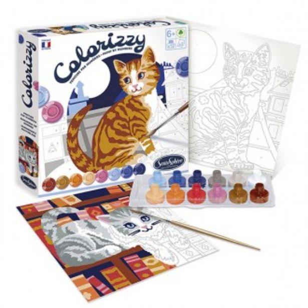 Oferta de Conjunto de pintura colorizzy gatos por 18,59€