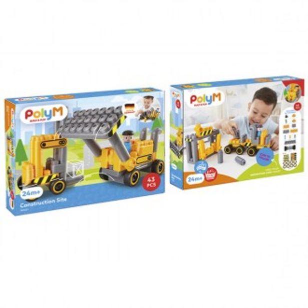 Oferta de Set de construção bulldozer por 19,99€