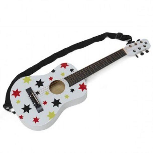 Oferta de Guitarra de madeira com estrelas por 42,95€