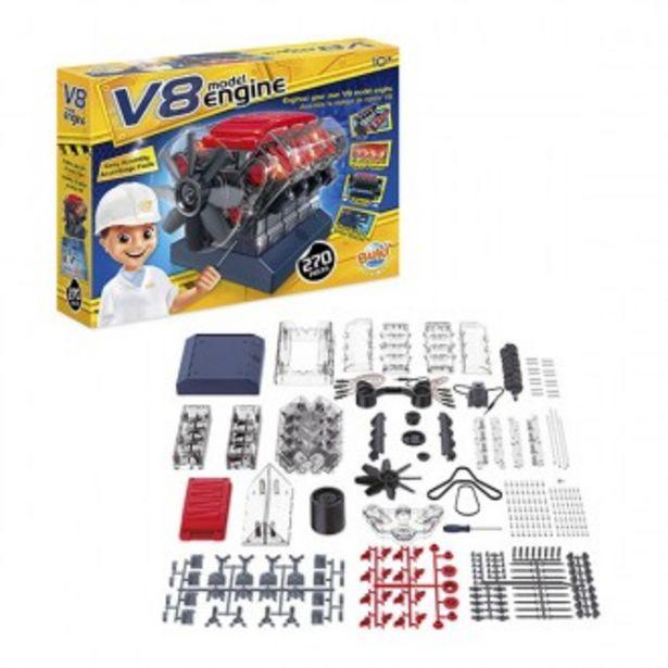 Oferta de Kit para construir motor v8 por 48,9€
