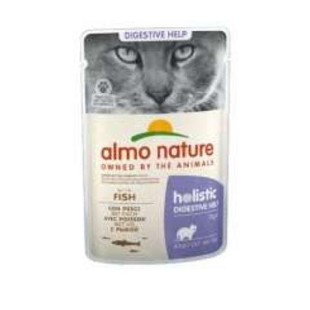 Oferta de Almo Nature Sensitive peixe para gatos por 1,29€