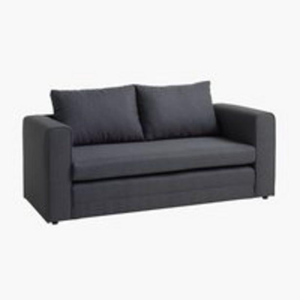 Oferta de Sofá-cama SKILLEBEKK cinzento escuro por 200€