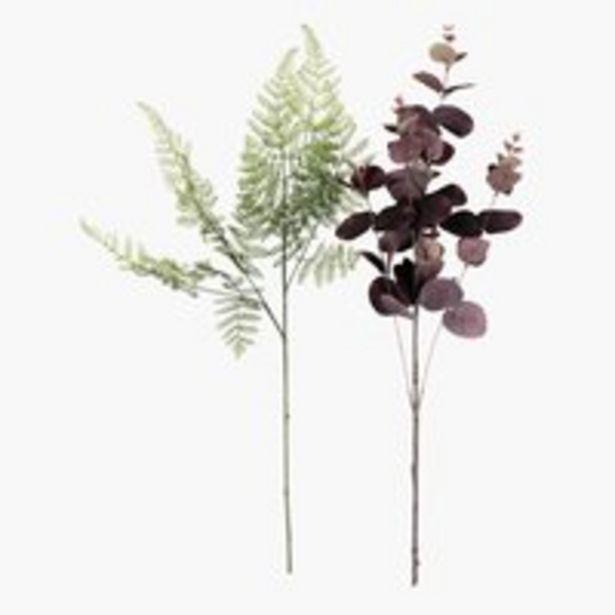 Oferta de Flor artificial CLEMME A55cm sort. por 3,99€
