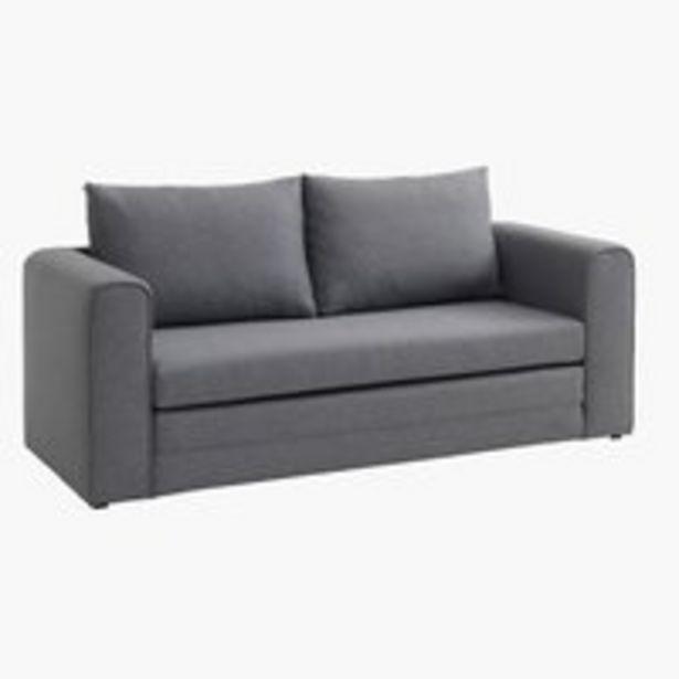 Oferta de Sofá-cama SKILLEBEKK cinzento claro por 200€