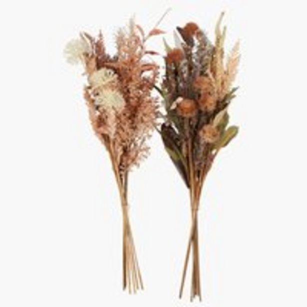 Oferta de Flor artificial DAVID A65cm sort. por 16,99€