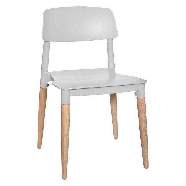 Oferta de Cadeira Infantil Cinza por 17,99€