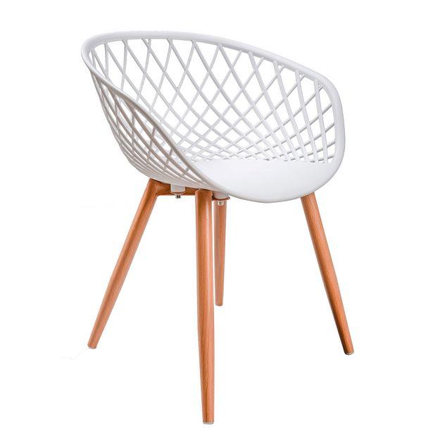 Oferta de Cadeira Infantil Lilo Branco por 13,79€