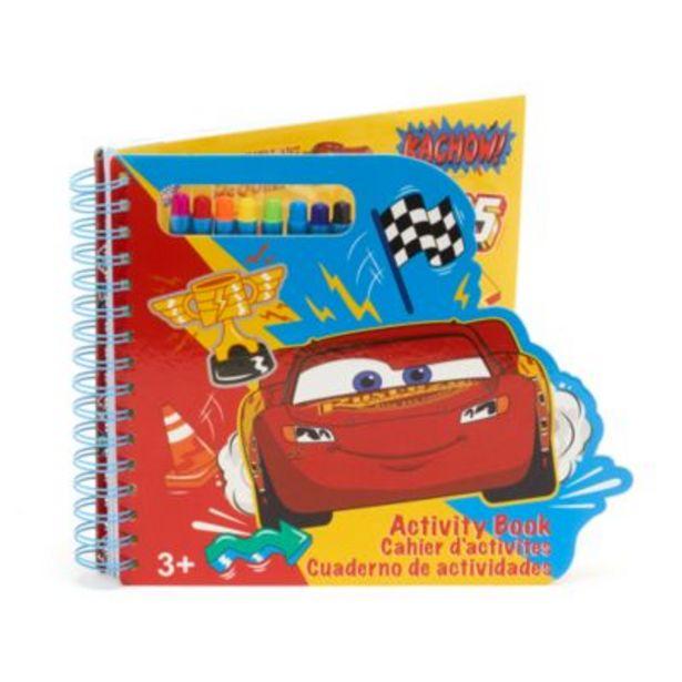 Oferta de Cuaderno actividades Disney Pixar Cars, Disney Store por 10€