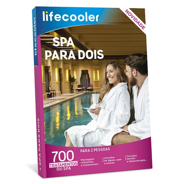 Oferta de LIFECOOLER SPA  PARA DOIS 19-20 por 29,9€