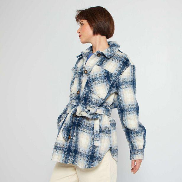 Oferta de Casaco estilo camisa-casaco por 25€