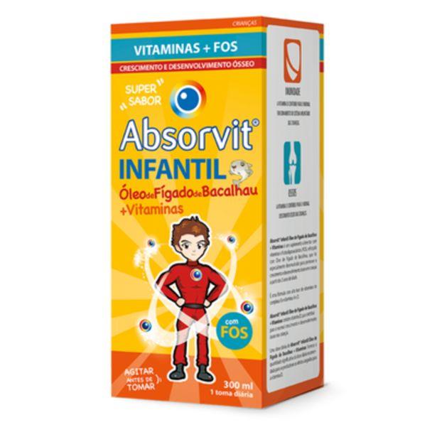 Oferta de Absorvit Infantil Óleo Fígado de Bacalhau por 23,72€