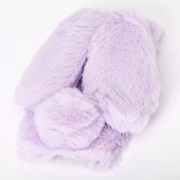 Oferta de Purple Fur Bunny Phone Case - Fits iPhone 6/7/8/SE por 6€
