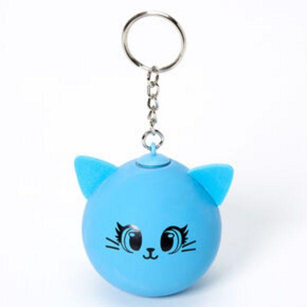 Oferta de Cat Stress Ball Keychain - Blue por 3,6€
