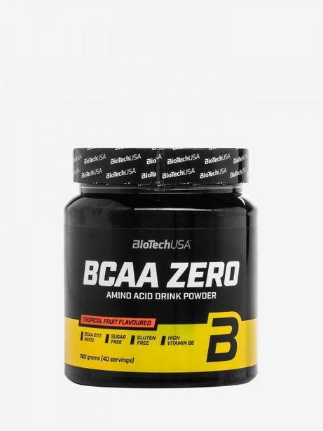 Oferta de Suplemento Biotech BCAA Zero de Frutas Tropicais por 18,13€