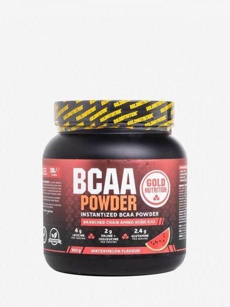 Oferta de Suplemento Gold Nutrition BCAA Powder de Melancia por 17,49€