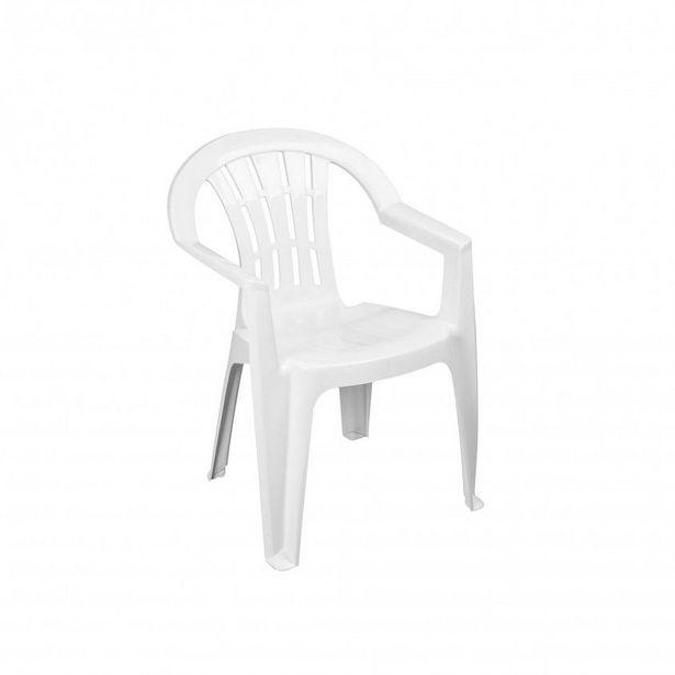 Oferta de Cadeira Monobloco com Braços por 4,99€