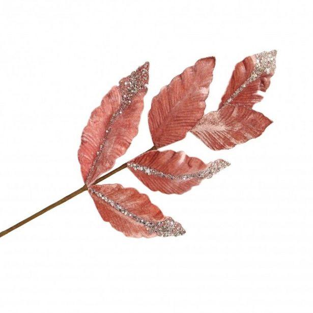 Oferta de Flor Artificial Haste Folhagem por 4,49€