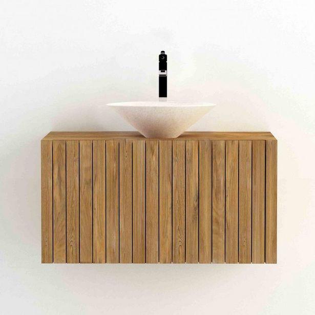 Oferta de Móvel de Casa de Banho Suspenso com Lavatório Ritan por 499€