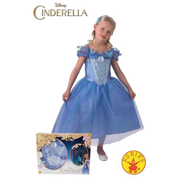 Oferta de Disfraz Cinderela com sapatos  inf por 34,95€