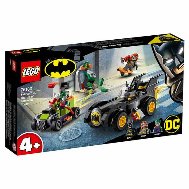 Oferta de Lego Super heróis Batman™ vs. The Joker™Batmóvel por 34,95€