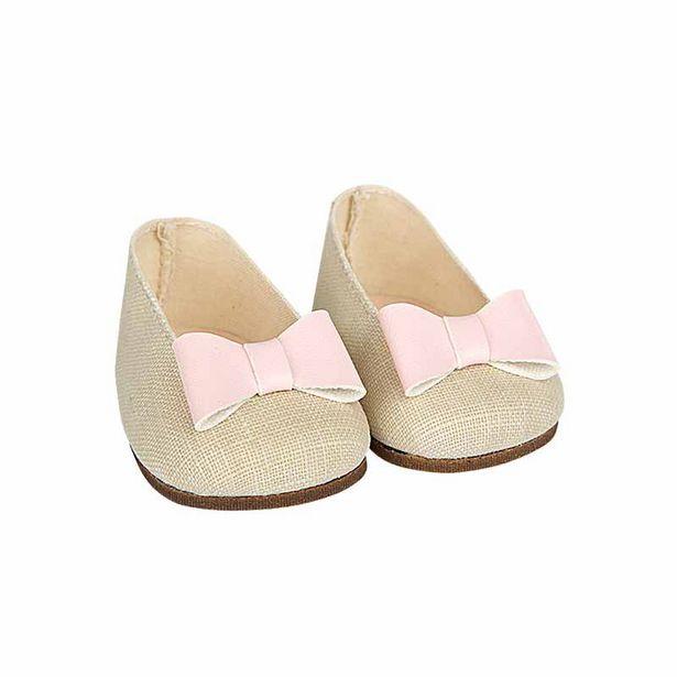 Oferta de Sapatos bege reborns 45 cm por 19,95€