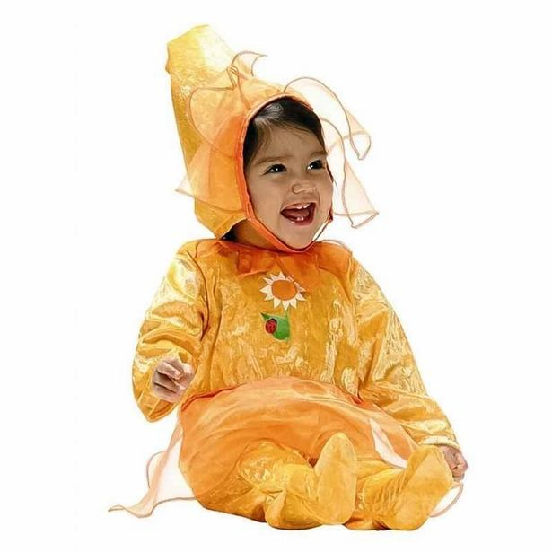 Oferta de Disfarce Flor Amarela Bebe por 17,95€