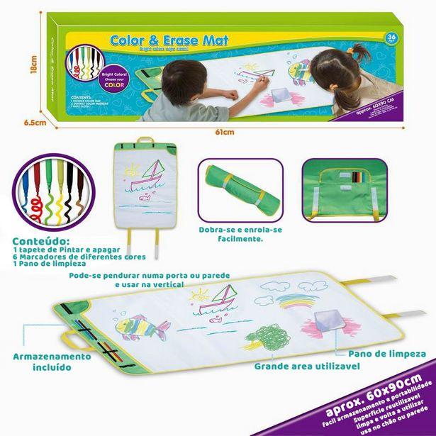 Oferta de Tapete de Pintura com marcadores 60x90cm por 19,95€