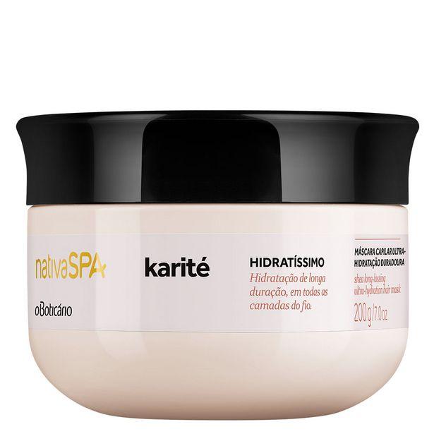 Oferta de Nativa SPA Karité Máscara Capilar, 200g por 13,99€