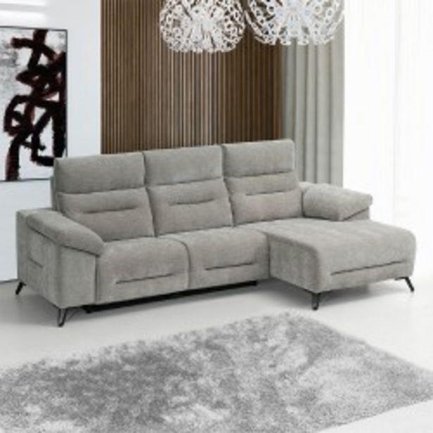 Oferta de Sofá Chaise Longue Relax DERYL por 1199€