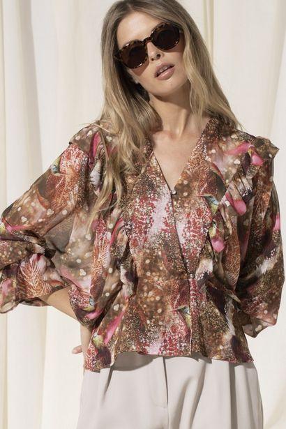 Oferta de Blusa estampada com folho por 40€