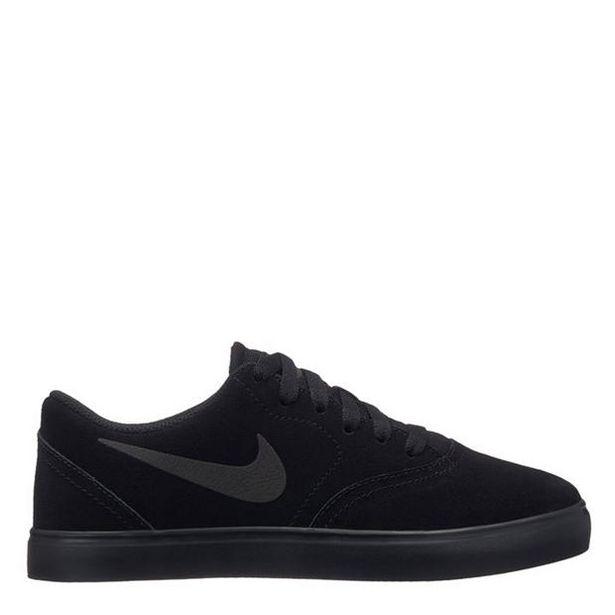 Oferta de Nike SB Check Suede Junior Boys Skate Shoes por 25,2€