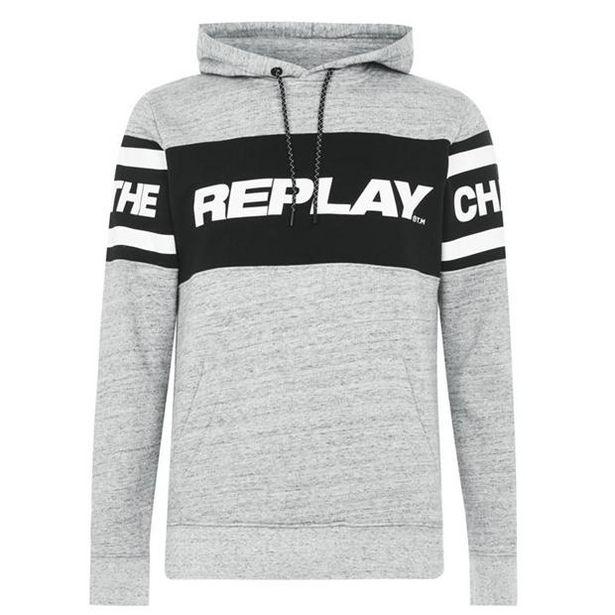 Oferta de Replay Print OTH Hoodie por 69,59€