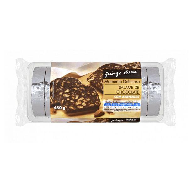 Oferta de Salame de Chocolate com Amêndoas Pingo Doce por 2,89€