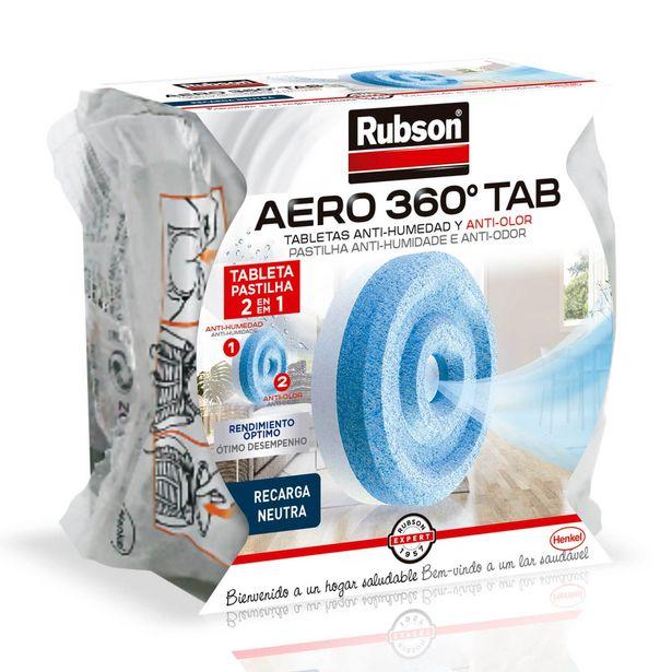 Oferta de Recarga de Desumidificador Aero 360º Rubson por 4,99€