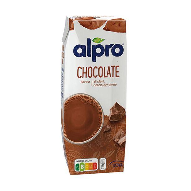 Oferta de Bebida de Soja com Chocolate Alpro por 0,75€