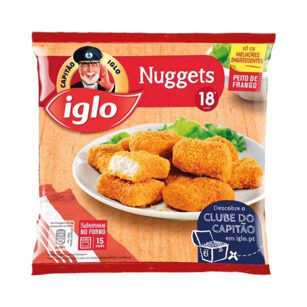 Oferta de Nuggets de Frango Congelados Capitão Iglo por 3,49€