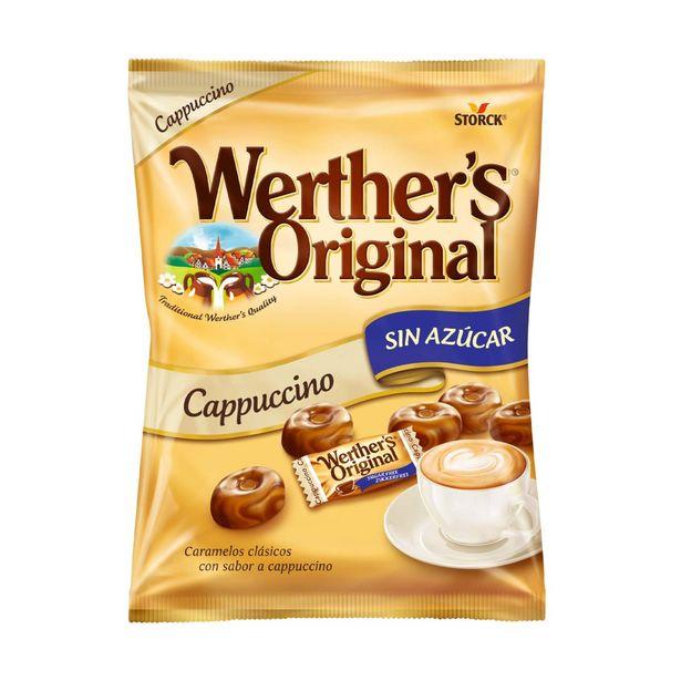 Oferta de Caramelos Cappuccino Sem Açúcar Werther's Original por 2,59€