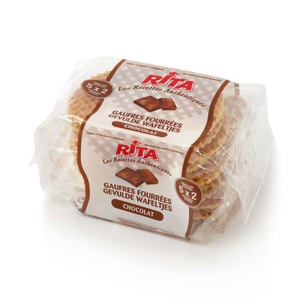 Oferta de Waffles de Chocolate Rita por 2,19€