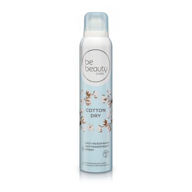 Oferta de Desodorizante Spray Cotton Dry Be Beauty por 1,19€