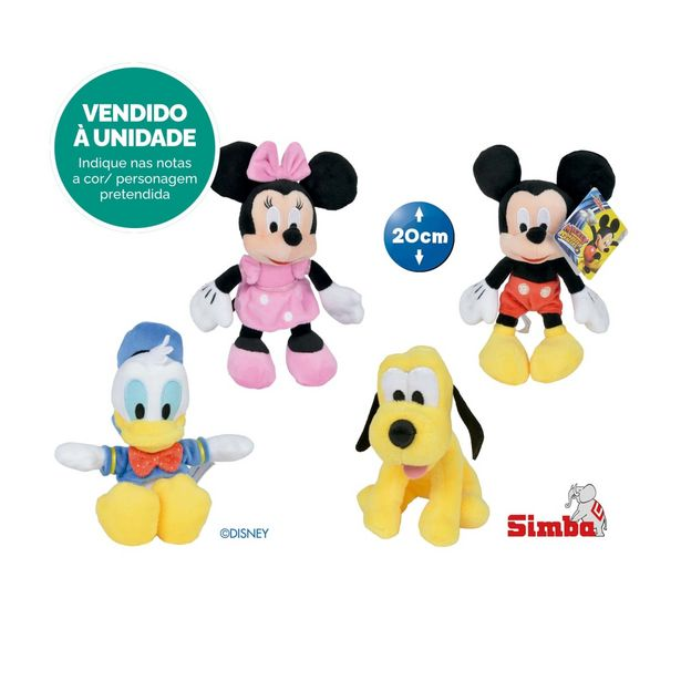 Oferta de Peluche Sortido Disney por 3,99€