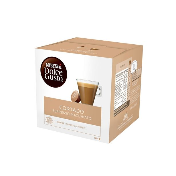 Oferta de Café Cápsulas Expresso Cortado Nescafé Dolce Gusto por 5,79€