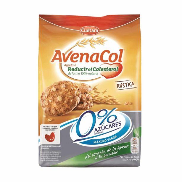 Oferta de Bolachas AvenaCol Rústica 0% Açúcar Cuétara por 2,39€