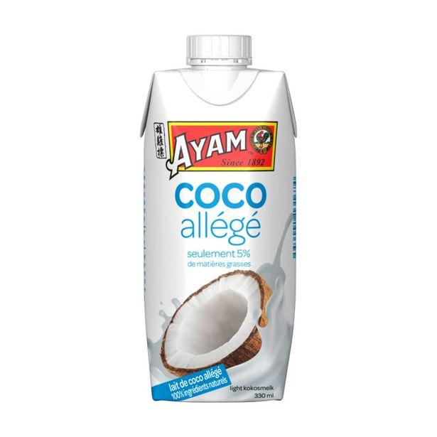 Oferta de Leite de Coco Light Ayam por 1,83€