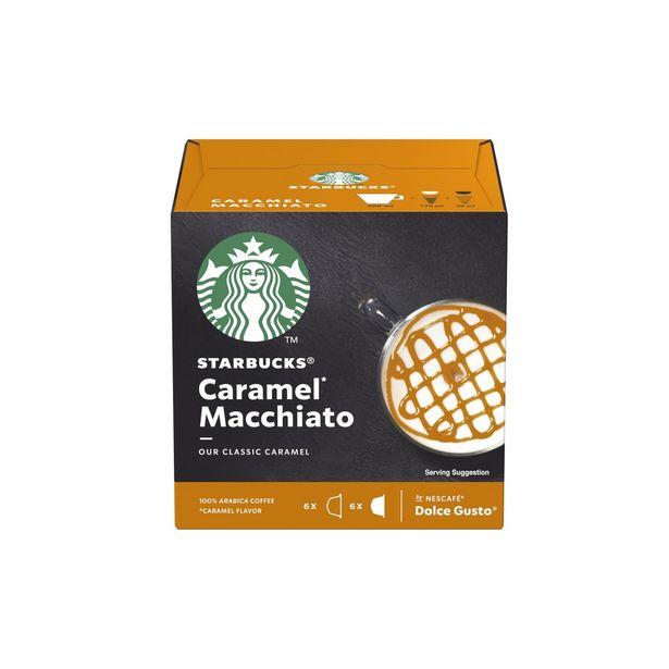 Oferta de Caramelo Macchiato Cápsulas Nestlé Dolce Gusto Starbucks por 4,79€