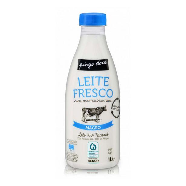 Oferta de Leite Pasteurizado Fresco Magro Pingo Doce por 0,64€