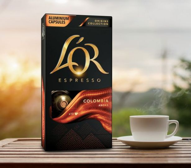 Oferta de L'Or Cápsulas de Café Expresso Colômbia por 2,79€
